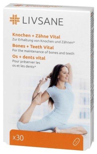 LIVSANE Podpora pre zdravé kosti a zuby 30 tbl
