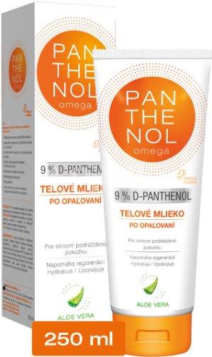 omega PANTHENOL 9% ALOE VERA telové mlieko po opaľovaní 250 ml