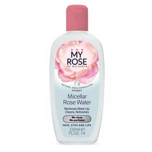 Micelárna rúžová voda My Rose 220 ml