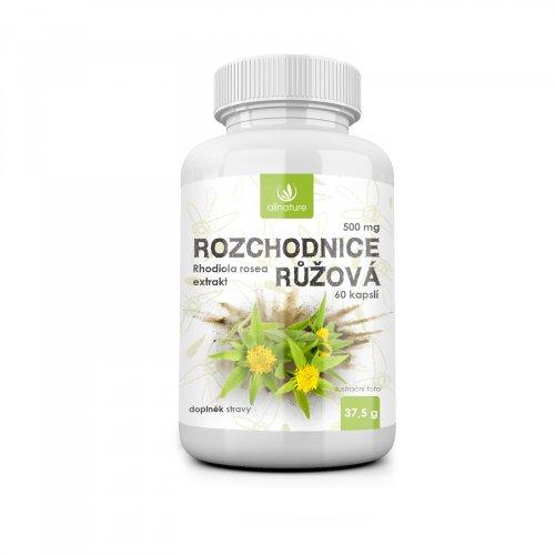 Allnature Rozchodnica ružová 500 mg 60 cps