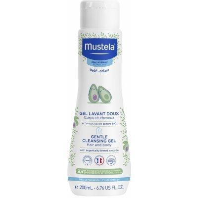 Mustela Jemný čist.telový-vlasový gél 200 ml