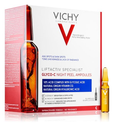 Vichy Liftactiv Specialist Glyco-C ampulky proti pigmentácii na noc 30 x 2 ml