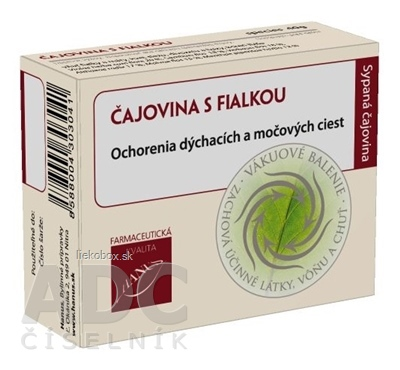 HANUS ČAJOVINA S FIALKOU bal. 40 g