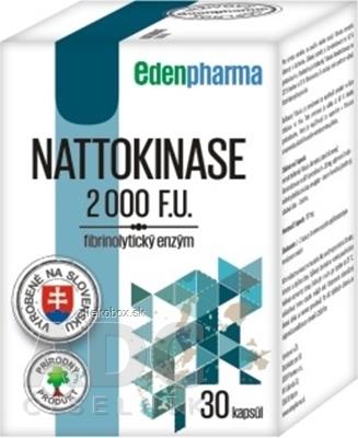 EDENPharma NATTOKINASE 2000 F.U. cps 30 ks