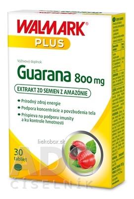 WALMARK Guarana 800 mg 30 tbl