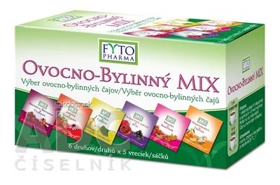 FYTO OVOCNO-BYLINNÝ MIX čajov 6 druhov x 5 vrecúšok 30x2 g