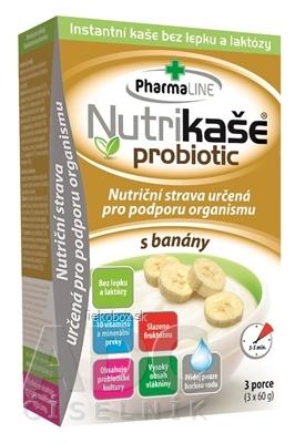 Nutrikaša probiotic s banánom 3x60 g
