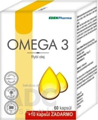 EDENPharma OMEGA 3 cps 60 +10 zadarmo