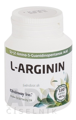 Brainway L-ARGININ 100 cps